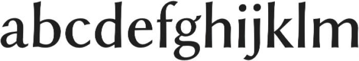Styla Pro Regular otf (400) Font LOWERCASE
