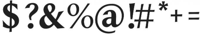 Styla SC otf (700) Font OTHER CHARS