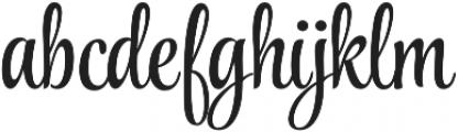 StylePro otf (400) Font LOWERCASE