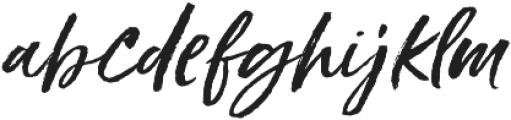 Styled up Slanted Alt1 ttf (400) Font LOWERCASE
