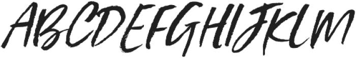Styled up Slanted Alt2 ttf (400) Font UPPERCASE