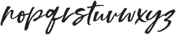Styled up Slanted Alt2 ttf (400) Font LOWERCASE
