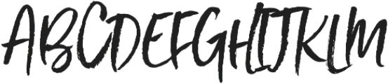 Styled up Upright Tall otf (400) Font UPPERCASE