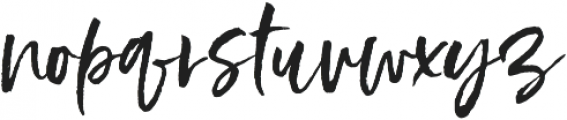 Styled up Upright Tall otf (400) Font LOWERCASE