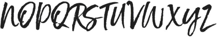 Styled up Upright otf (400) Font UPPERCASE