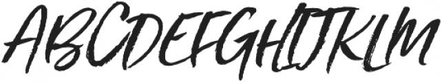 Styled up slanted otf (400) Font UPPERCASE