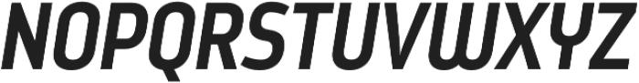 Styling otf (700) Font UPPERCASE