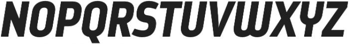 Styling otf (900) Font UPPERCASE