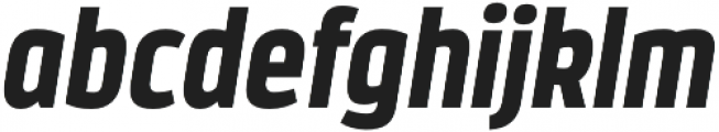 Styling otf (900) Font LOWERCASE