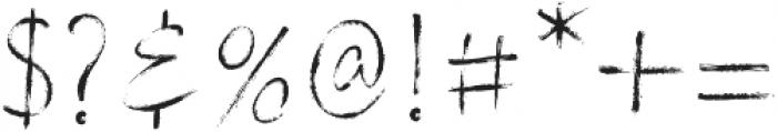 Stylish Marker otf (400) Font OTHER CHARS