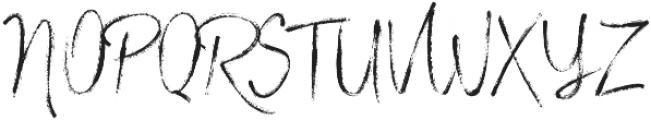 Stylish Marker otf (400) Font UPPERCASE