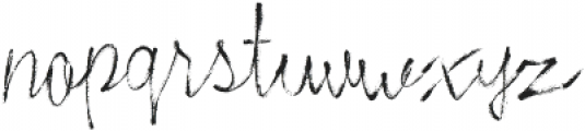 Stylish Marker otf (400) Font LOWERCASE