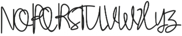 Stylistic Sign otf (400) Font UPPERCASE