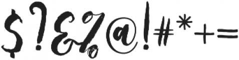 staylisha Script Regular otf (400) Font OTHER CHARS