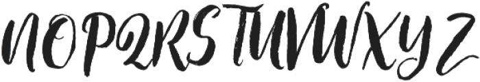 staylisha Script Regular otf (400) Font UPPERCASE