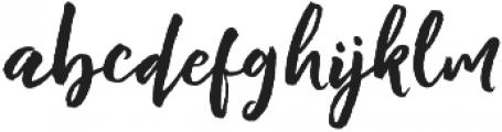 staylisha Script Regular otf (400) Font LOWERCASE