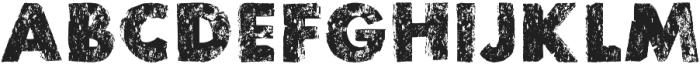 stonetypo grunge otf (400) Font LOWERCASE