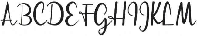 streetlight script otf (300) Font UPPERCASE