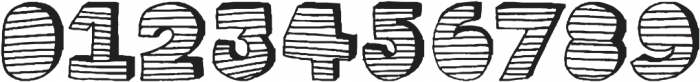 stripe3D ttf (400) Font OTHER CHARS