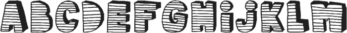 stripe3D ttf (400) Font UPPERCASE