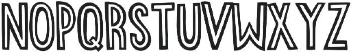 stripecomic otf (700) Font UPPERCASE