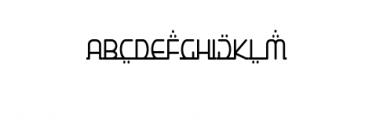 Star Medina Font Font UPPERCASE
