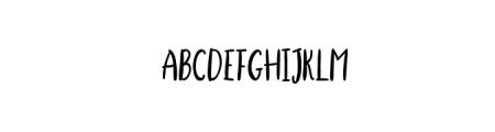 StellaAlpina-cutecaps.otf Font LOWERCASE