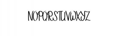 StellaAlpina.otf Font UPPERCASE