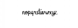 StellaAlpina.otf Font LOWERCASE