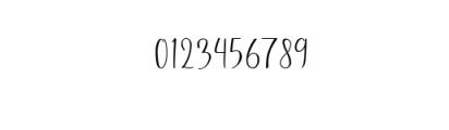 Stellaria.ttf Font OTHER CHARS