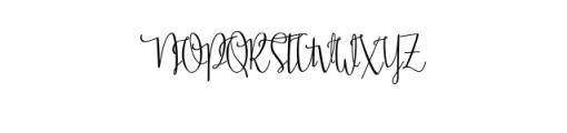 Stellaria.ttf Font UPPERCASE