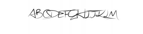 Stephen Type font - signature font Font UPPERCASE