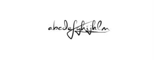 Stephen Type font - signature font Font LOWERCASE
