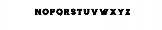 Storehouse Black.otf Font UPPERCASE