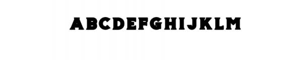 Storehouse Black.otf Font LOWERCASE