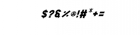 Storehouse Italic.otf Font OTHER CHARS