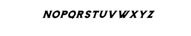Storehouse Italic.otf Font UPPERCASE