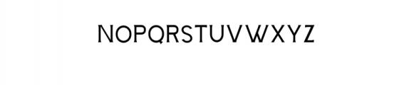 Storehouse Thin.otf Font UPPERCASE