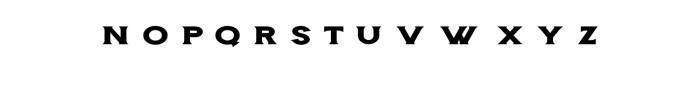 Storehouse Wide.otf Font UPPERCASE