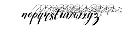 Strawberry Juice Family Font LOWERCASE