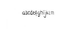 Struggle Line Premium.otf Font LOWERCASE