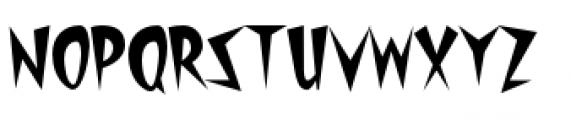 Starburst Lanes Twinkle Font UPPERCASE