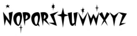 Starburst Lanes Twinkle Font LOWERCASE