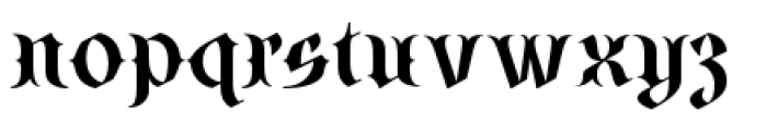SteamCourt Bold Font LOWERCASE