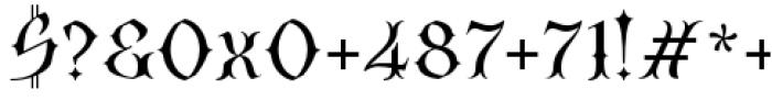 SteamCourt Light Font OTHER CHARS