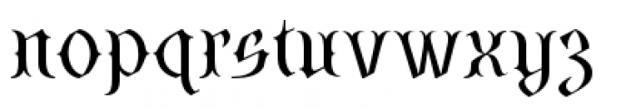SteamCourt Light Font LOWERCASE