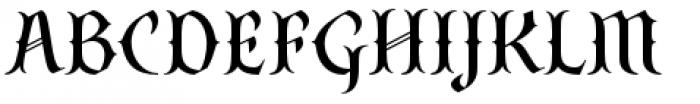 SteamCourt Medium Font UPPERCASE