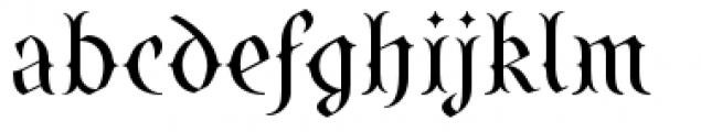 SteamCourt Regular Font LOWERCASE