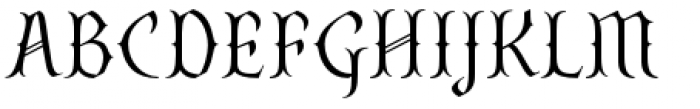 SteamCourt Thin Font UPPERCASE