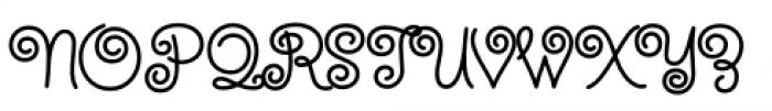 Steinweiss Script Bold Font UPPERCASE